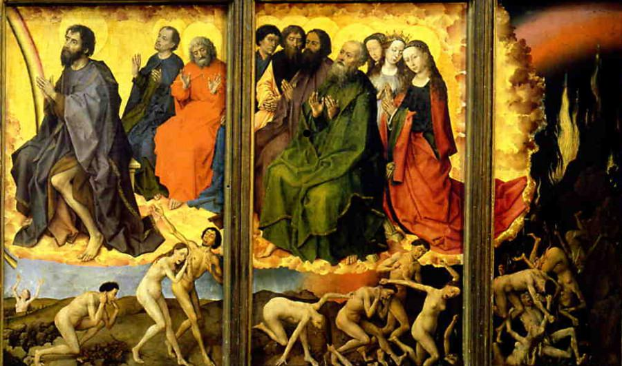 Van der Weyden's right-wing from The Last Judgement Polyptych.