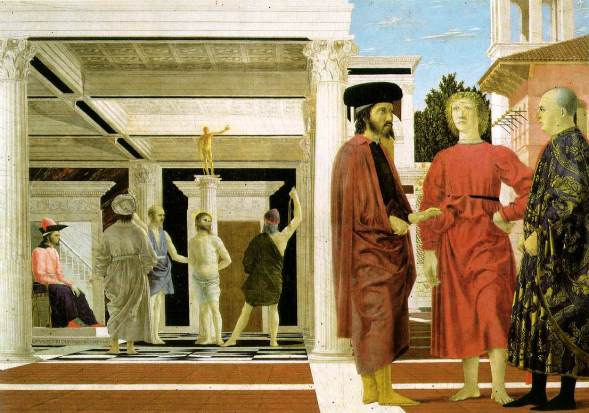 The Flagellation of Christ by Piero della Francesca