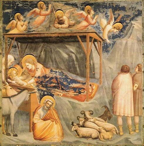 The Nativity by Giotto