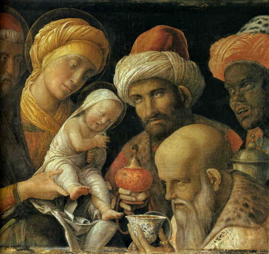 Andrea Mantegna's Adoration of the Magi.