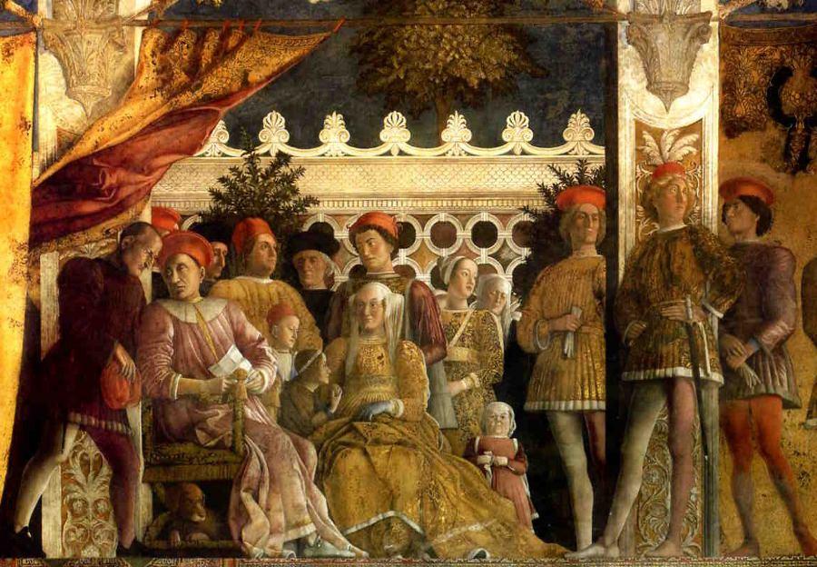 The Gonzaga Family by Andrea Mantegna