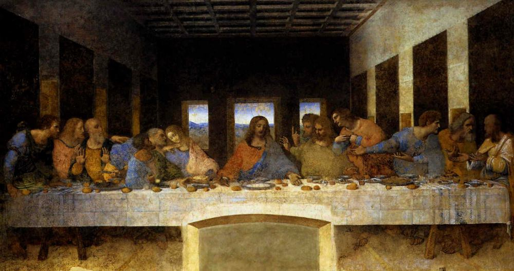 Leonardo's Last Supper.