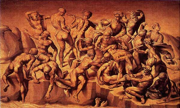 The Battle of Cascina Michelangelo's unfinished masterpiece.