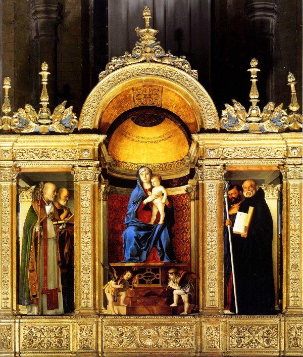Frari Triptiği, Giovanni Bellini