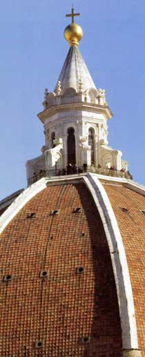 Dome of Florence Cathedral (detail)