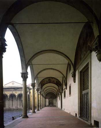 Loggia by Brunelleschi