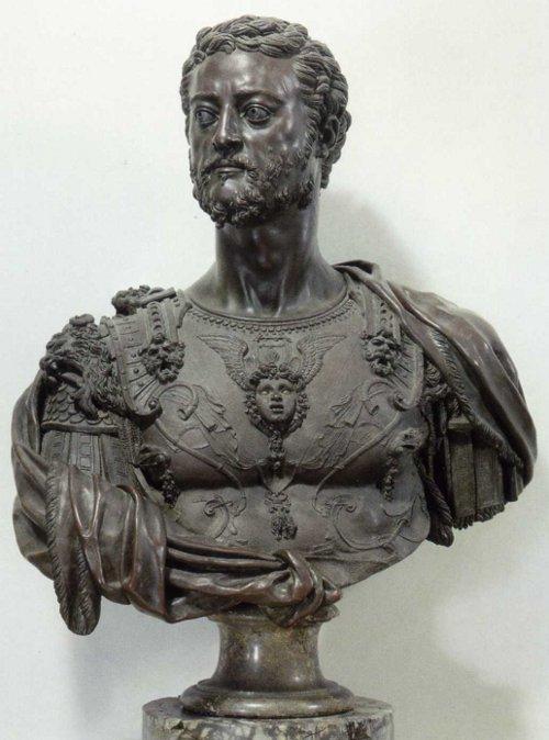 Duke Cosimo I by Benvenuto Cellini, Bronze, Florence, 1545/47