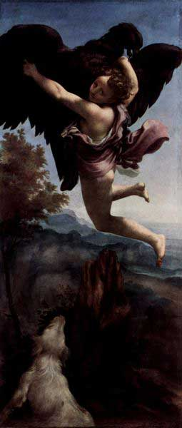 Ganymede Abducted by the Eagle, Correggio