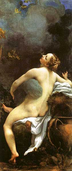 Jupiter and Io, Correggio