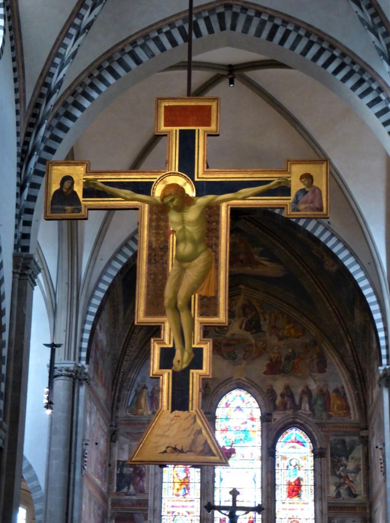 Giotto's Crucifix, Santa Maria Novella,Florence, Italy