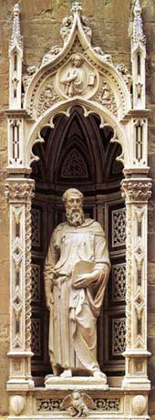 St Mark by Donatello