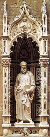 St Mark by Donatello