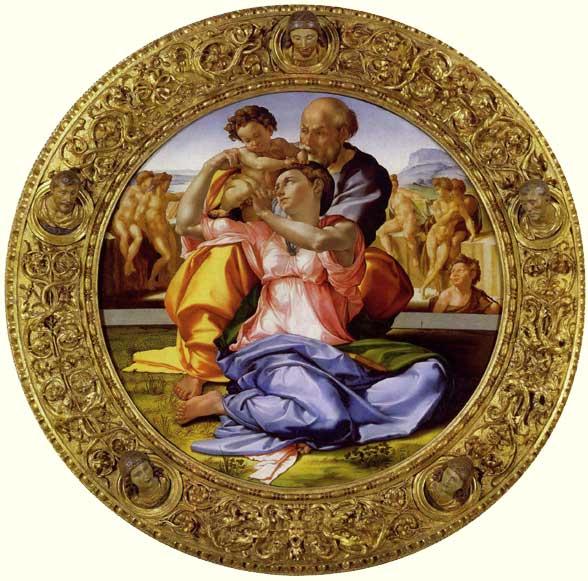 The Doni Tondo Michelangelo's circular painting masterpiece