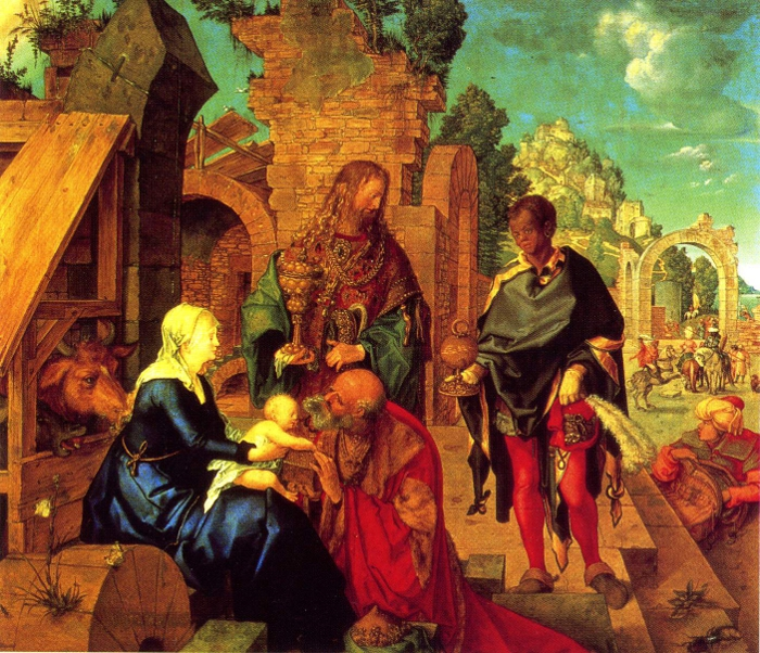 Adoration of the Magi by Durer
