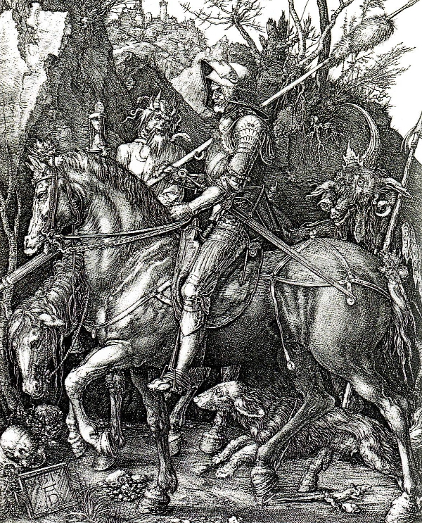 Knight, Death and the Devil by Durer