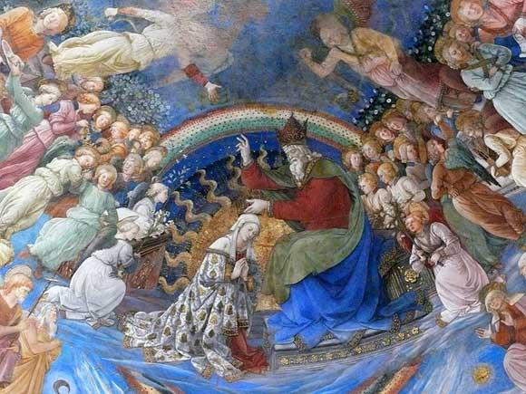 Annunciation by Fra Filippo Lippi