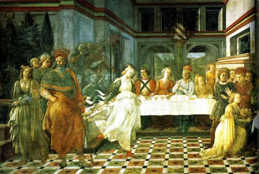 The Feast of Herod by Fra Filippo Lippi