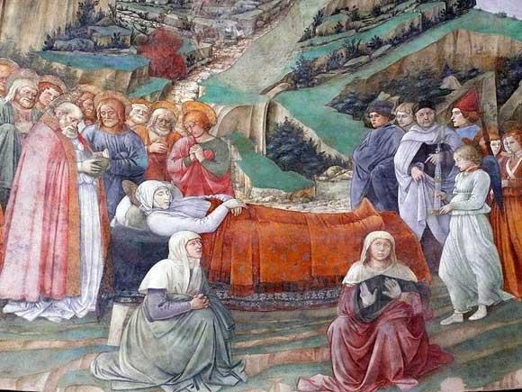 Death of the Virgin by Fra Filippo Lippi