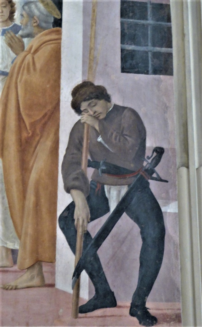 Filipino Lippi, St Peter Freed, Branccaci Chapel, Florence, Italy
