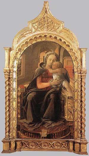 The Tarquinia Madonna by Fra Filippo Lippi