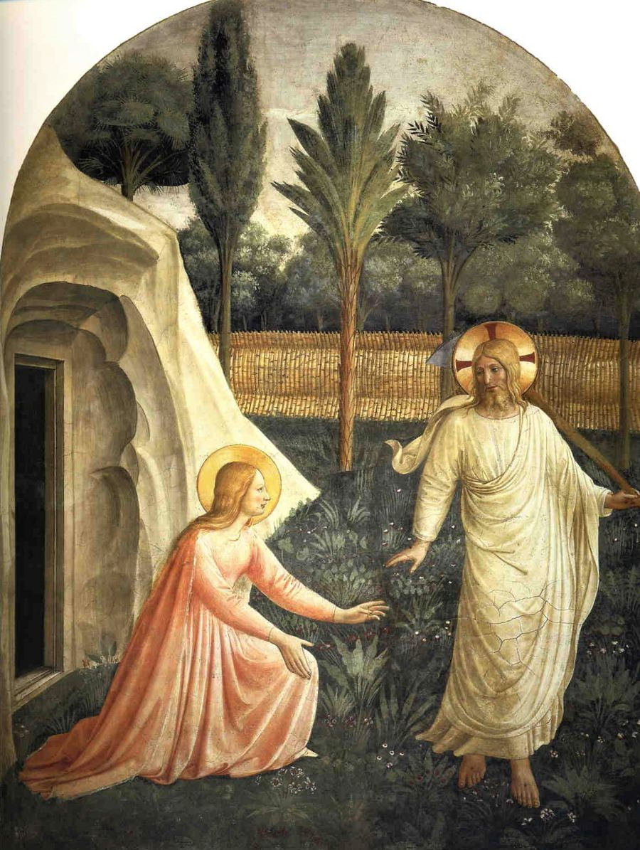 Fra Angelico, Noli me tangere, San Marco Florence.