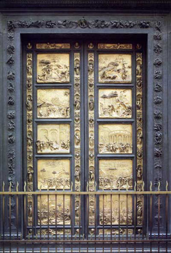 The Gates of Paradise by Ghiberti