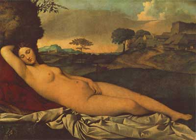 The Sleeping Venus c.1510