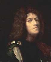Giorgione, self portrait