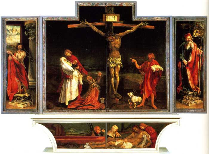 Grunewald Isenheim Altarpiece The Isenheim Altarpiece  1515