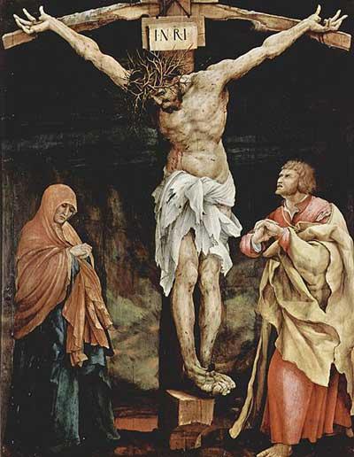 Crucifixion by Grunewald.