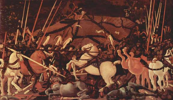The Battle of San Romano (Uffizi version)