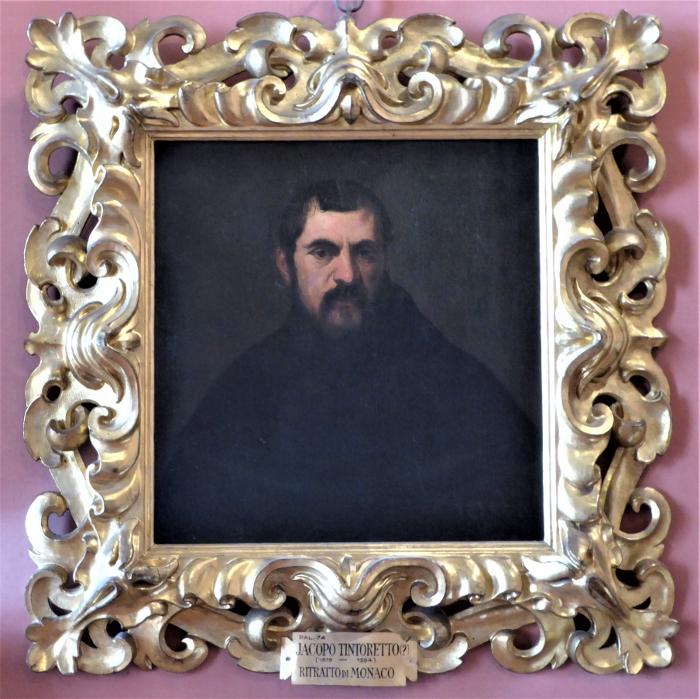 Tintoretto, Ritratto de Monaco, Pitti Palace, Florence, Italy