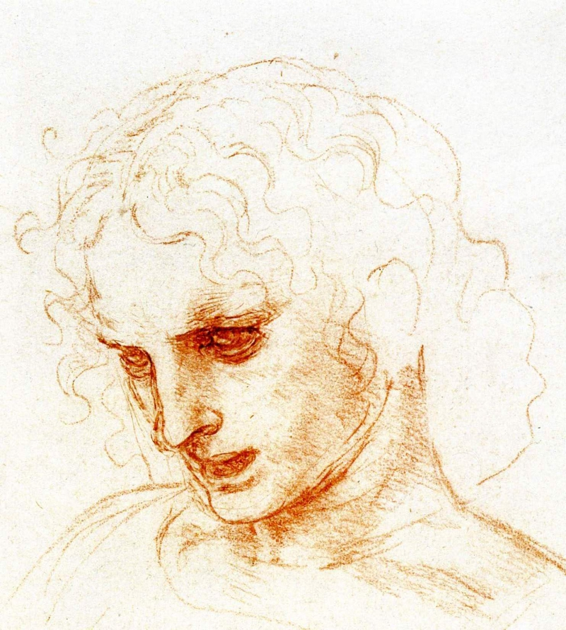 Study for St James by Leonardo da Vinci