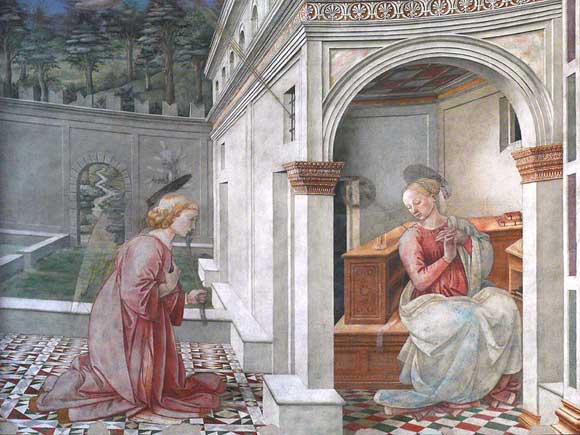 Coronation of the Virgin by Fra Filippo Lippi