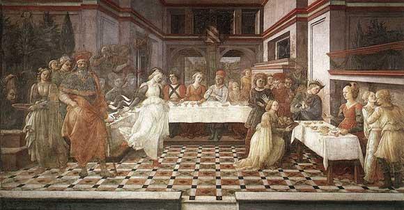 Feast of Herod by Fra Filippo Lippi
