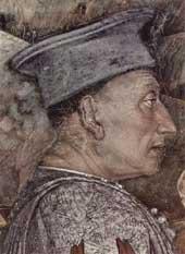 Ludovico Gonzaga by Andrea Mantegna