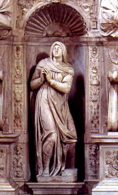 Rachel by Michelangelo.
