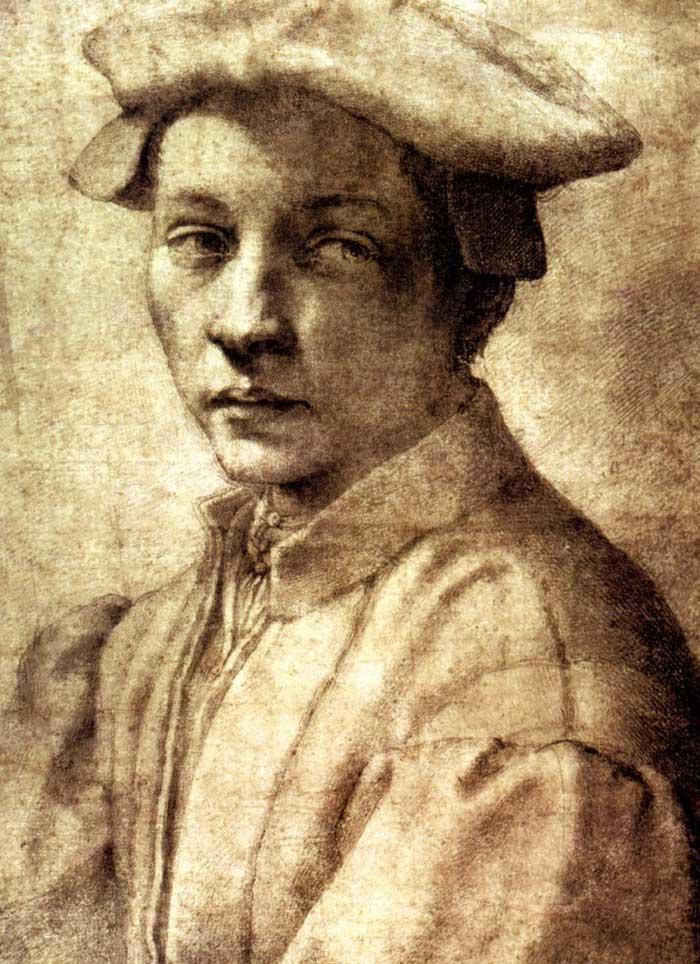 Michelangelo, Portrait of Andrea Quartesi
