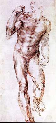 Study for David Michelangelo