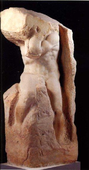 Atlas Slave Michelangelo 1520-1534