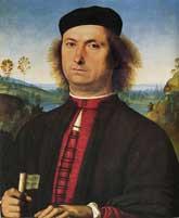 Francesco delle Opere by Perugino