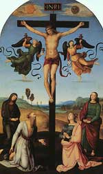 Crucifixion by Raphael.