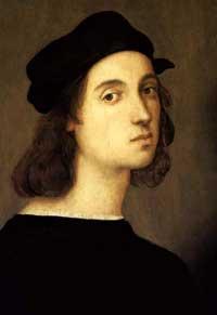 Raphael self-portrait.