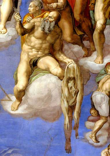 St Bartholomew, from Michelangelo's Last Judgement