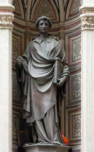 St Stephen by Ghiberti