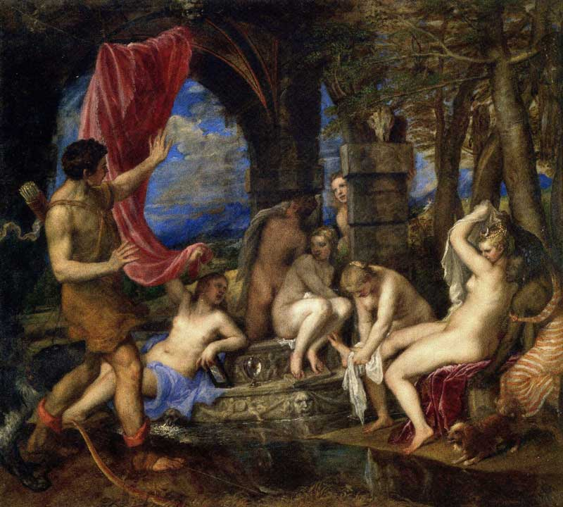 Titian's Diana and Actaeon