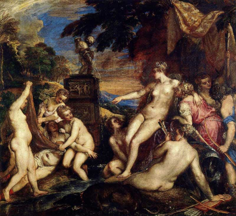 Titian's Diana and Callisto