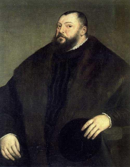 Titian's portrait of Johann Friedrich I