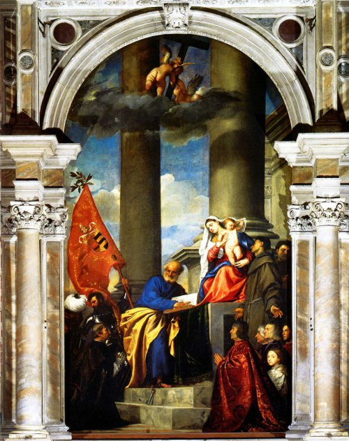 The Pesaro Madonna by Titian.