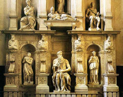 Tomb of Pope Julius II by Michelangelo